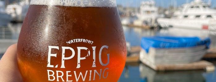 Eppig Brewing Waterfront Biergarten is one of San Diego.