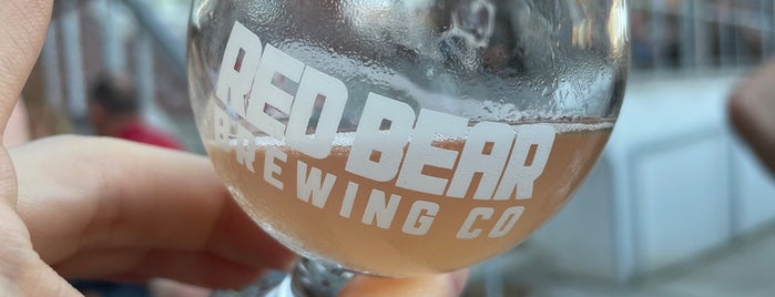 Red Bear Brewing Co is one of Washington DC.