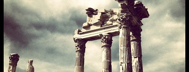 Temple of Trajan is one of izmir.