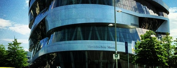 Mercedes-Benz Museum is one of Stuttgart . Alemania.