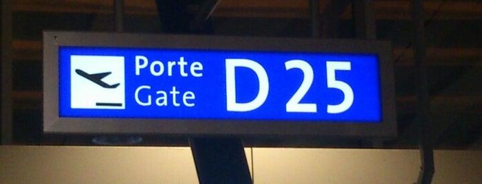 Gate D25 is one of Geneva (GVA) airport venues.