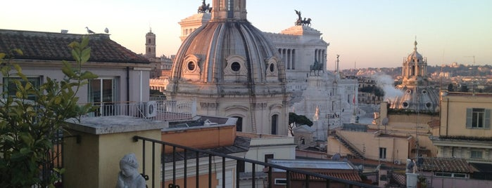 Hotel Pace Helvezia is one of Bons plans Rome.
