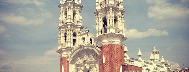Basílica y Santuario de la Virgen de Ocotlán is one of Alejandro : понравившиеся места.