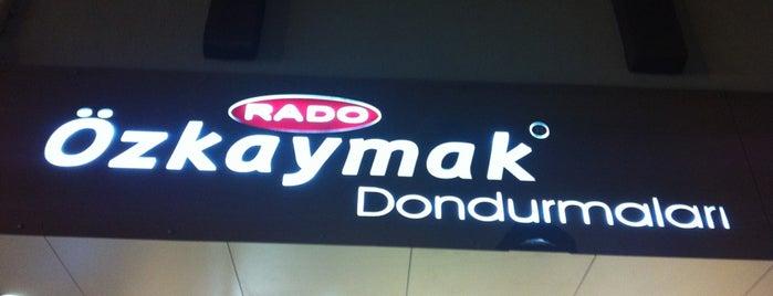 Rado - Özkaymak Dondurma is one of Kuşadası-Ankara.