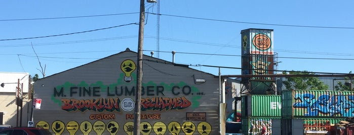 M. Fine Lumber Co is one of Housing, Furnishing, etc.