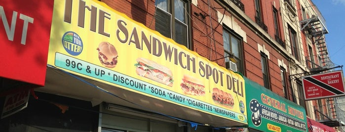 Sandwich Spot Deli is one of Signage.