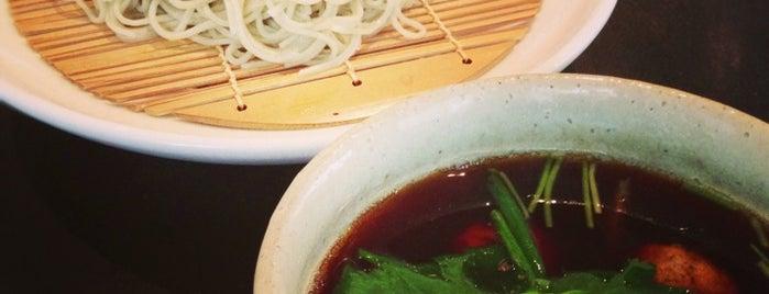 蕎麦 かぶらや is one of ミシュランガイド関西2014 (蕎麦).