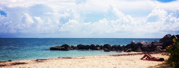 Fort Zachary Taylor Historic State Park is one of vacation hot spots.