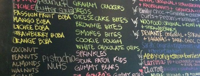 Wooberry Frozen Yogurt is one of สถานที่ที่บันทึกไว้ของ John.