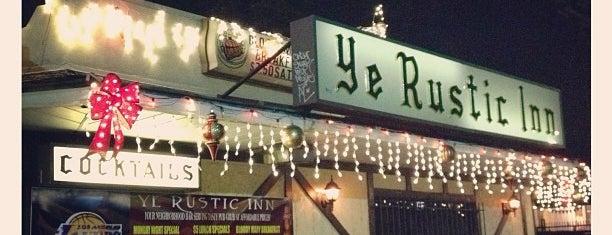 Ye Rustic Inn is one of Boozin'.