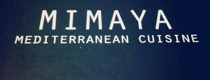 Mimaya is one of athens favourite.