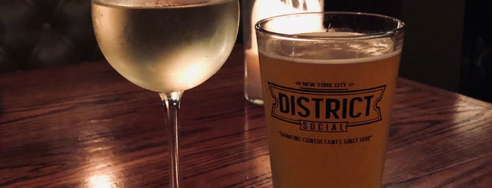District Social is one of Good bar food (NYC).
