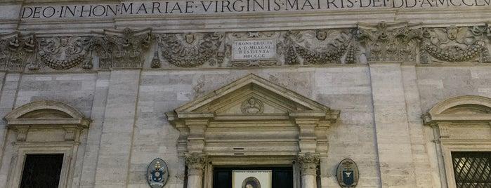 Santa Maria in Via is one of NYC➡️SPAIN➡️FRANCE➡️ITALY Trip.