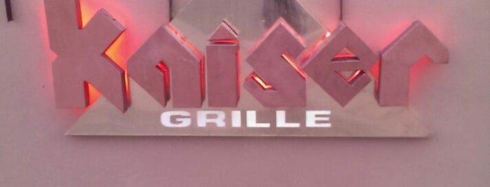 Kaiser Grille is one of Eats.