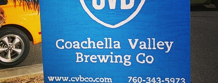 Coachella Valley Brewing Company is one of Palm Springs.