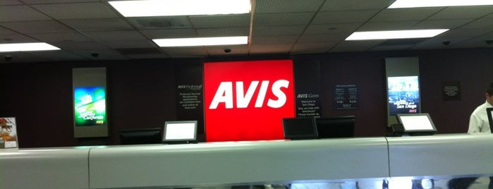 Avis Car Rental is one of Lugares favoritos de Sergio M. 🇲🇽🇧🇷🇱🇷.