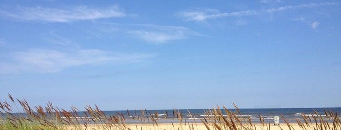 Пляж Вецаки is one of Martins : понравившиеся места.