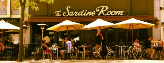 The Sardine Room is one of Restaurants to try.