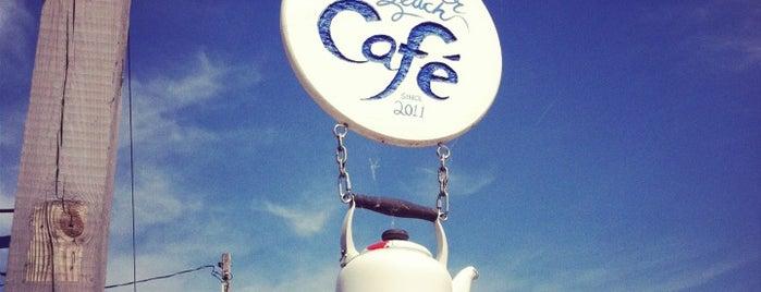 Luna Pier Beach Café is one of Free WiFi.