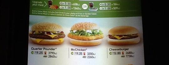 McDonald's is one of Lugares favoritos de Andreas.