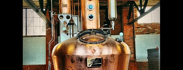Two James Distillery is one of Detroit.