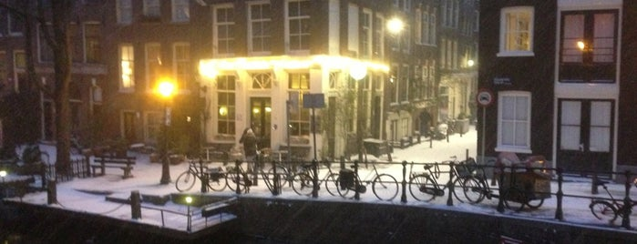Café 't Smalle is one of The Dog's Bollocks' Going Dutch (Amsterdam).