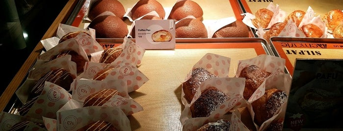 Hokkaido Baked Cheese Tart is one of Sydney food.