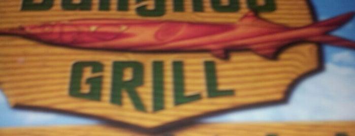 Ballyhoo Grill is one of Locais curtidos por Luis.