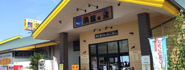 Shiosai no Yu is one of สถานที่ที่ コマシちゃん ถูกใจ.