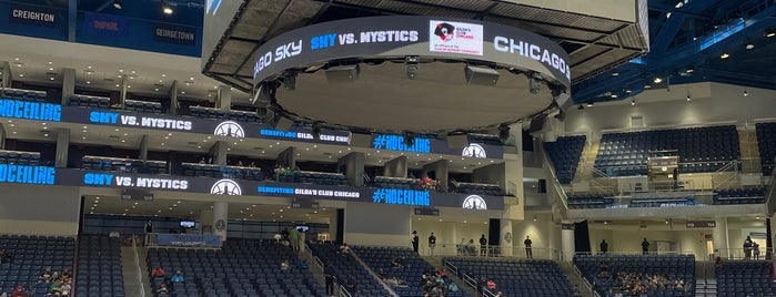 Wintrust Arena is one of NCAA Division I Basketball Arenas/Venues.