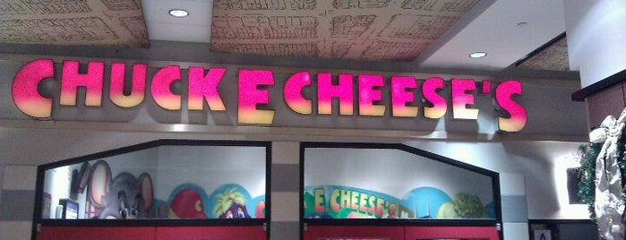 Chuck E. Cheese is one of NYC.