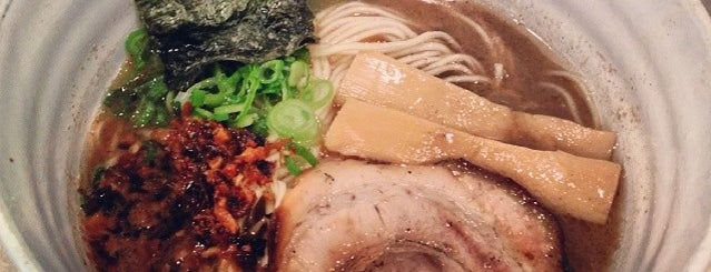 Bassanova Ramen is one of NYC dine out..