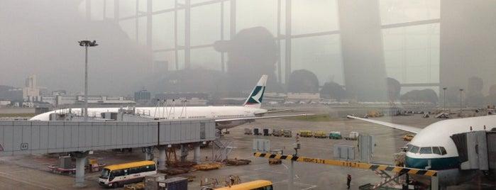 Hong Kong Uluslararası Havalimanı (HKG) is one of Airports of the World.