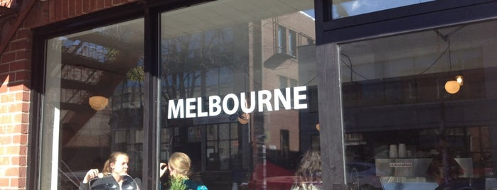 Melbourne is one of Brunch.