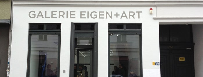 Galerie EIGEN + ART is one of Berlin.