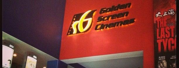 Golden Screen Cinemas (GSC) is one of Lugares favoritos de Chuah.