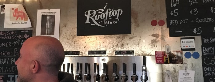Rooftop Brewing Company is one of Locais salvos de Steve.