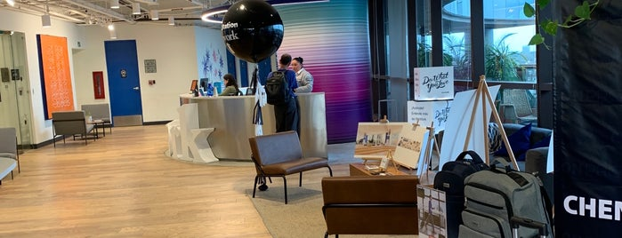 WeWork is one of Jhalyvさんのお気に入りスポット.