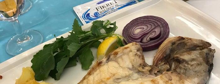Fikret Restoran & Balık Market is one of Erkan : понравившиеся места.