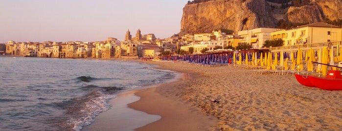 Spiaggia di Cefalù is one of Grand Tour de Sicilia.