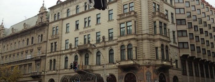 Radisson Blu Béke Hotel Budapest is one of Lieux qui ont plu à Aptraveler.