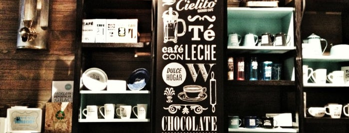 Cielito Querido Café is one of 101 Mexico City musts!.