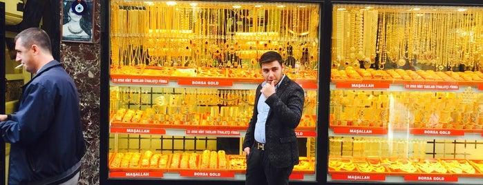 BORSA GOLD  HOLDİNG is one of Şükrü 님이 좋아한 장소.