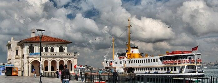 Kadıköy - Beşiktaş Vapuru is one of İstanbul'da Gezilmesi-Görülmesi Gereken Mekanlar.