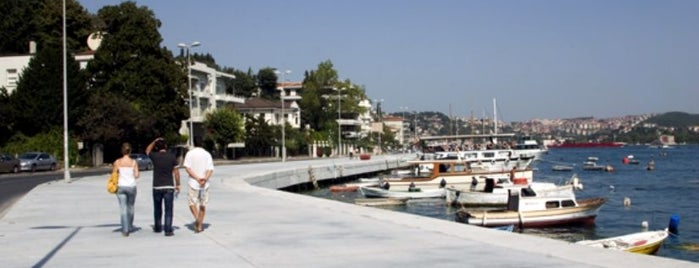 Bebek Sahili is one of must visit places in istanbul.