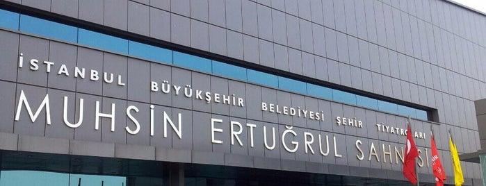 Harbiye Muhsin Ertuğrul Sahnesi is one of İstanbul'da Gezilmesi-Görülmesi Gereken Mekanlar.