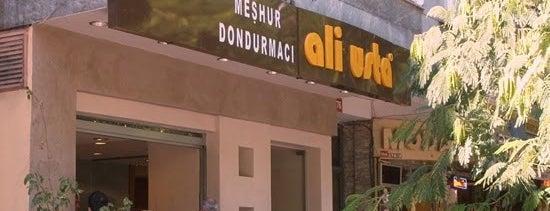 Meşhur Dondurmacı Ali Usta is one of İstanbul'da Gezilmesi-Görülmesi Gereken Mekanlar.