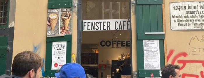 Fenster Cafe is one of my wien.