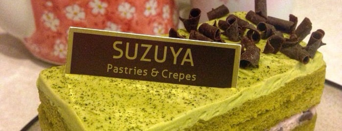 Suzuya Pastries and Crepes is one of Gespeicherte Orte von Colin.