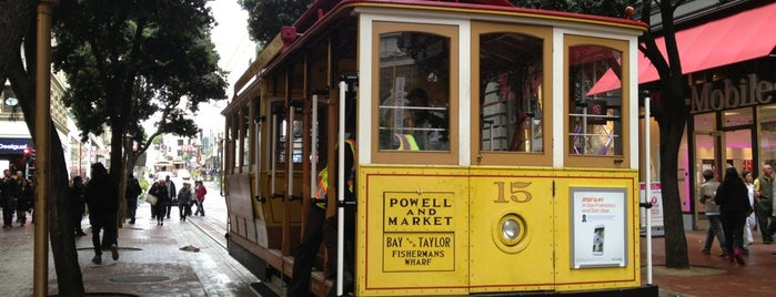 Powell Street Cable Car Turnaround is one of 101 Places to Take Your Family in the U.S..